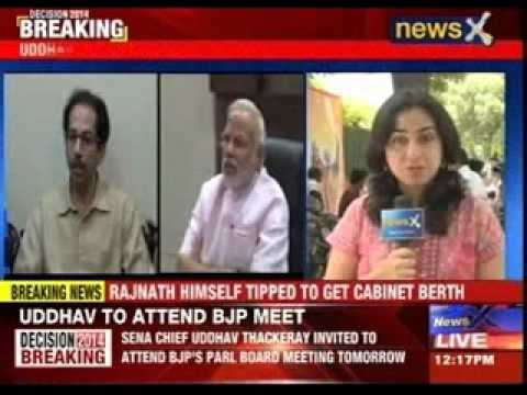 Rajnath Singh invites Uddhav for parliamentary board meet
