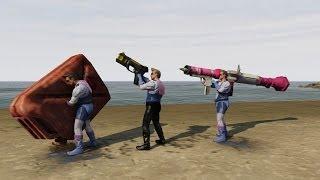 GTA 5 Online Heist Leaked Heist Weapons DLC New Gun