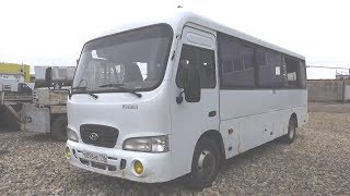2010 Автобус малого класса Hyundai County. Обзор (интерьер, экстерьер, двигатель).. MegaRetr