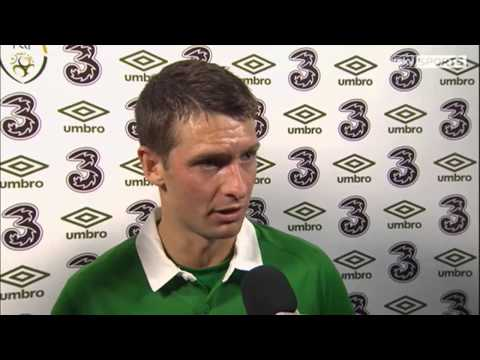 Republic of Ireland v Turkey - Post Match Interviews - John O'Shea and Wes Hoolahan (25/5/14)