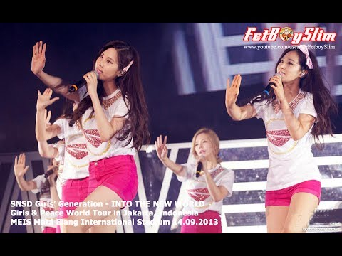 SNSD GIRLS' GENERATION - INTO THE NEW WORLD live in Jakarta, Indonesia 2013