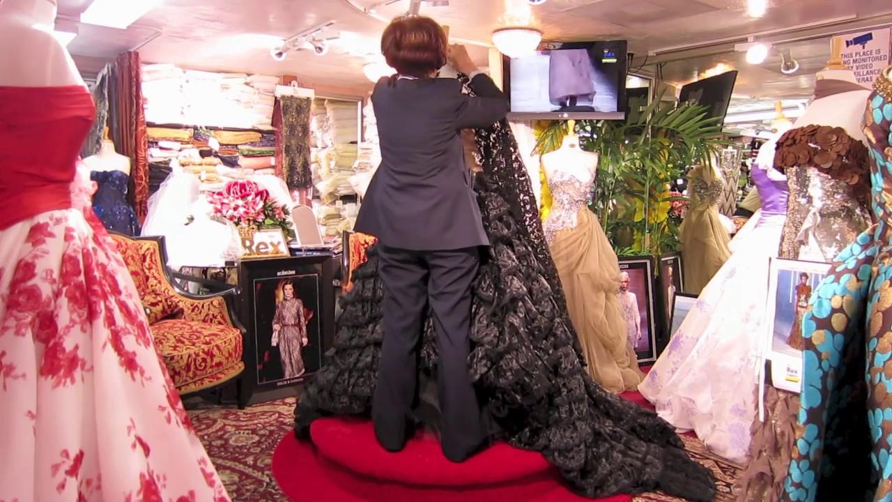 Miami fl custom evening gowns custom bridal wedding for Wedding dresses miami florida
