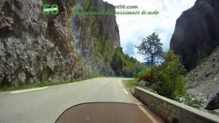 Roadbook moto Hautes Alpes : Défilé de la Souloise