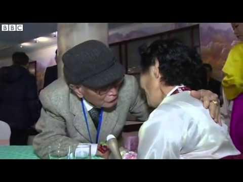 Korea  rare family reunions take place