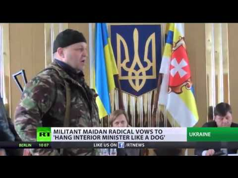 BBC Silent - Unelected Ukraine 'leader' vows to hang new interior minister