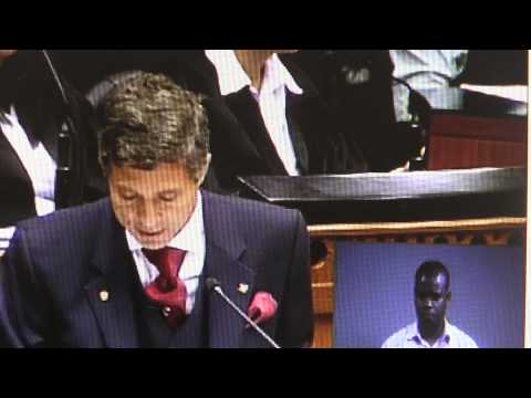 IFP MP Mario Ambrosini on the Decriminalisation of Medical Marajuana