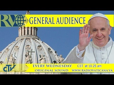 Pope's General Audience 2014-04-16