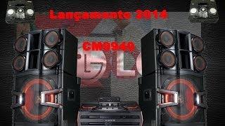 Lançamento 2014 Mini System LG X-BOOM CM9940