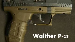 Walther P 22 Semi-Auto Pistol Review