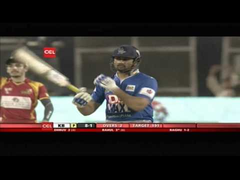 Telugu Warriors Vs Karnataka Bulldozers | 2nd Inn | Over 1-5 | Hyderabad
