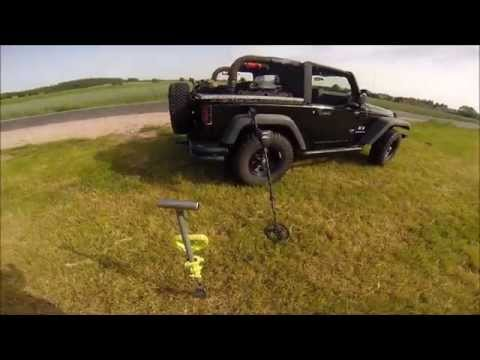 AMERICAN DIGGER IN EUROPE: Metal Detecting Fields Near Weiden In Der Oberfaltz