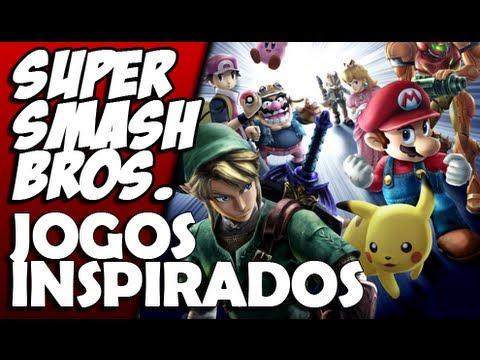 Super Smash Bros. e os Jogos Inspirados nele [ Pah Hora ]