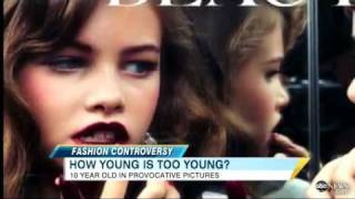 !!10-YEAR-OLD VOUGE MODEL:HOW YOUNG IS TOO YOUNG?!!