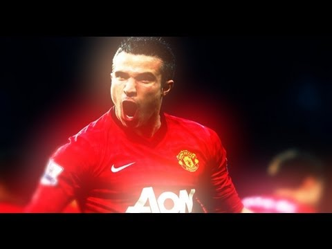 Robin Van Persie - Golden Striker | Manchester United 2013 HD