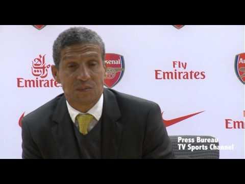 Chris Hughton reaction Arsenal vs Norwich