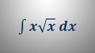Nedoločeni integral 4