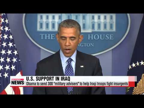 U.S. to send 300 military advisers to Iraq