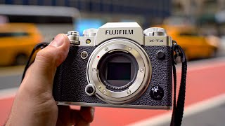 Fuji X-t4 First Review - Best Hybrid For Video Shooters?