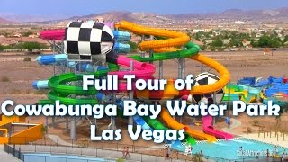 [HD] Complete Tour Of Cowabunga Bay Water Park Las Vegas
