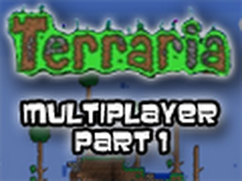 Terraria - w/ Gassy, Slyfox, Ssohpkc, Junk, and Pbat Part 1 (Mutliplayer/ Live Commentary)