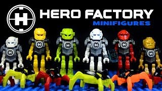 LEGO Hero Factory Mini Robots Invasion From Below KnockOff