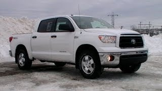 2013 TOYOTA TUNDRA CREWMAX REVIEW TRD ROCK WARRIOR WWW NHCARMAN COM videos