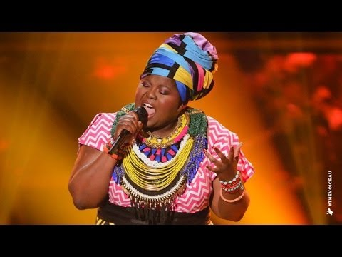 Thando Sikwila sings Sex On Fire | The Voice Australia 2014