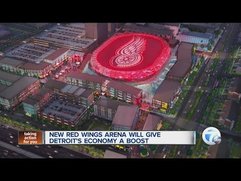 New Red Wings arena unveiled