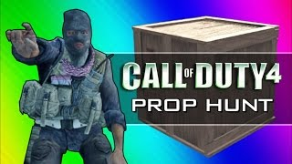Call of Duty 4: Prop Hunt Funny Moments - Home Alone Rated R, Scanning for Retards (CoD4 Mod)