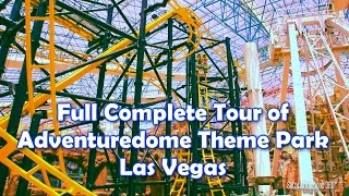 [HD] COMPLETE Full Tour Of AdventureDome Theme Park 2014