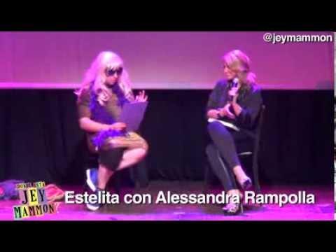 Estelita con Alessandra Rampolla