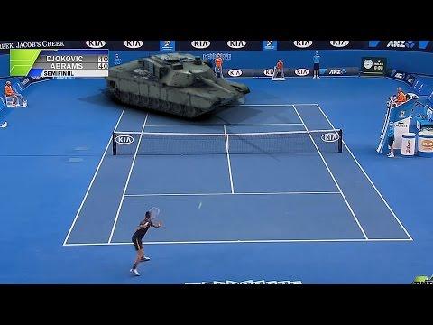Новак Ѓоковиќ против тенкот во полуфиналето на Australian Open 2015