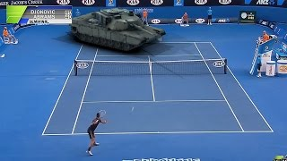 AUS OPEN 2015 Djokovic V Abrams Semi-Final