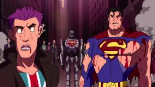 Superman Vs the Elite end scene