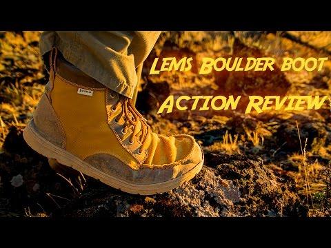 Lems Minimalist Boulder Boot Action Review