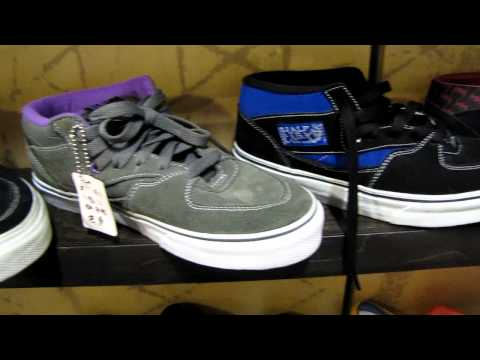 Vans Shoes &quot;Off The Wall&quot; Selection Pt.1, Join Us On Facebook https://www.facebook.com/bagginsshoes Baggins also has The Worlds widest selection of Converse Allstar Chuck Taylor Shoes. All Vans Shoes...