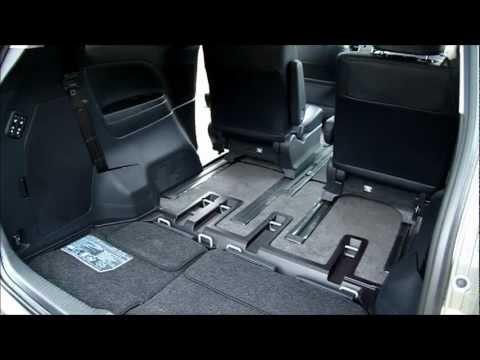 2013 Toyota Previa 2.4第三排電動座椅收納