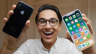 J'ai l'iPhone 8 et l'iPhone X !