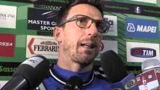 Sassuolo, Di Francesco: 'Ora il difficile è confermarsi'