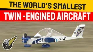 Cri Cri - World's Smallest Twin Engine Aircraft