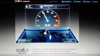 Pocket Wifi LPDA External Antenna Results
