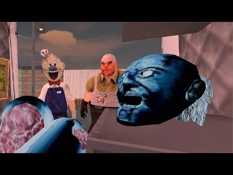 Granny vs Ice Scream vs Mr Meat funny animation part 56
