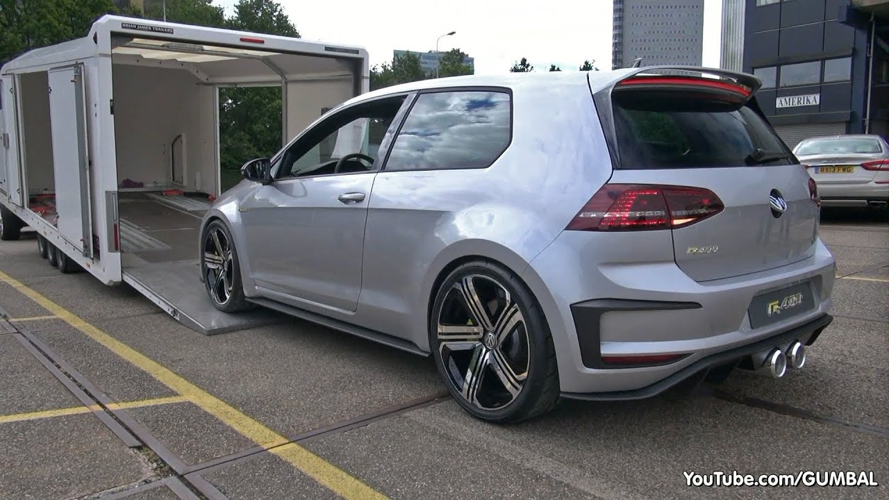 2015 Volkswagen Golf VII R400 Concept: - Start up, Exhaust Sounds ...
