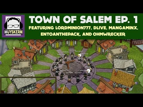 Town of Salem Ep 1 | With Wade, DLive, Entoan, Mangaminx, and Ohmwrecker