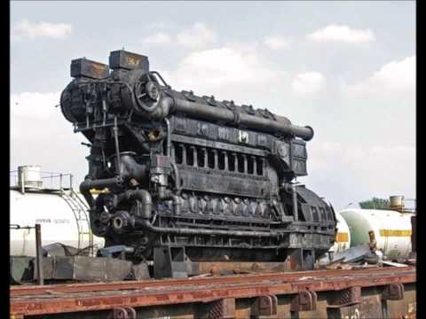 1 Hour Relaxing Engine Sound (diesel electric locomotive 2TE10)