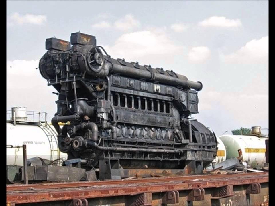 1 Hour Relaxing Engine Sound Diesel Electric Locomotive