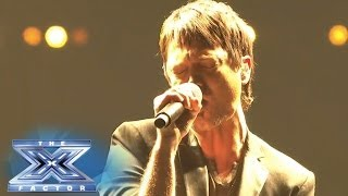 """Jeff Gutt Stands Alone And Rocks """"Without You"""" THE X"""
