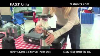 Family Adventure & Survival Trailer Units Setup And