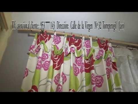 Instalación de Barras para cortinas