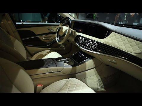 Car Tech - 2014 LA Auto Show: Mercedes-Maybach S600